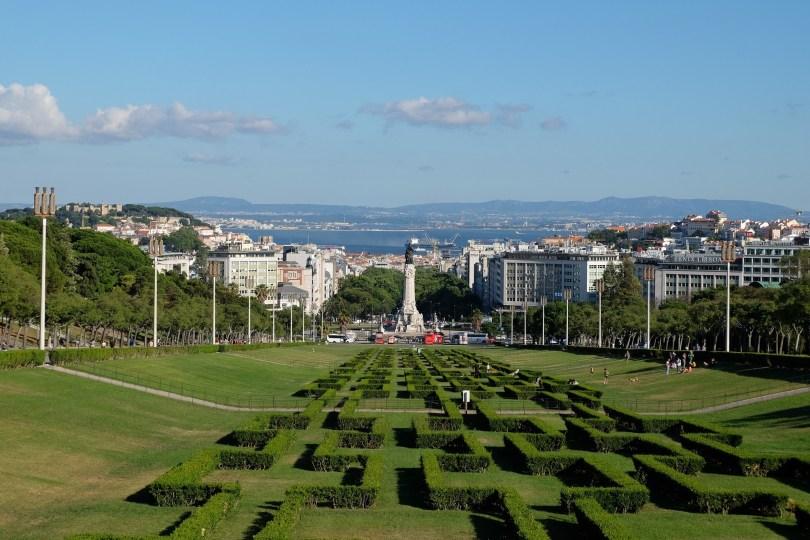 Parc Edouard VII - Parque Eduardo VII - Lisbonne