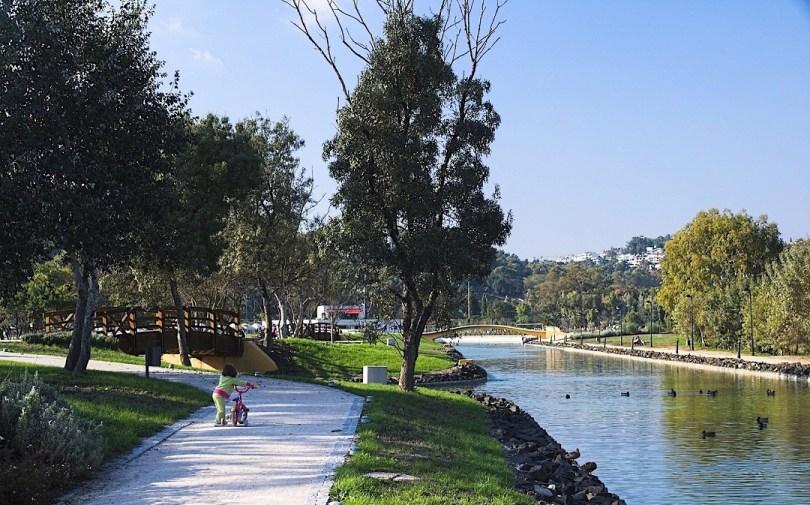 Parc Urbain Jamor - Cuz Quebrada - pres de Lisbonne