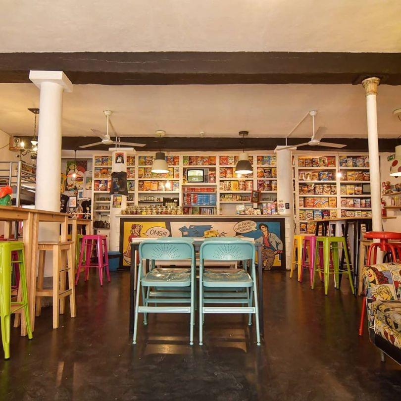 Boutique Pop Cereal Cafe - Bairro Alto - Lisbonne