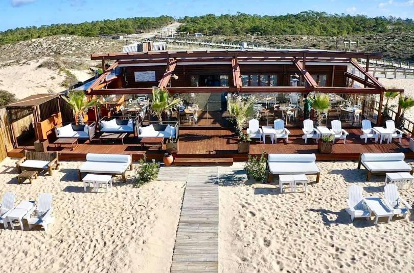 Comporta Cafe - Restaurant-Bar de plage de Comporta - Portugal