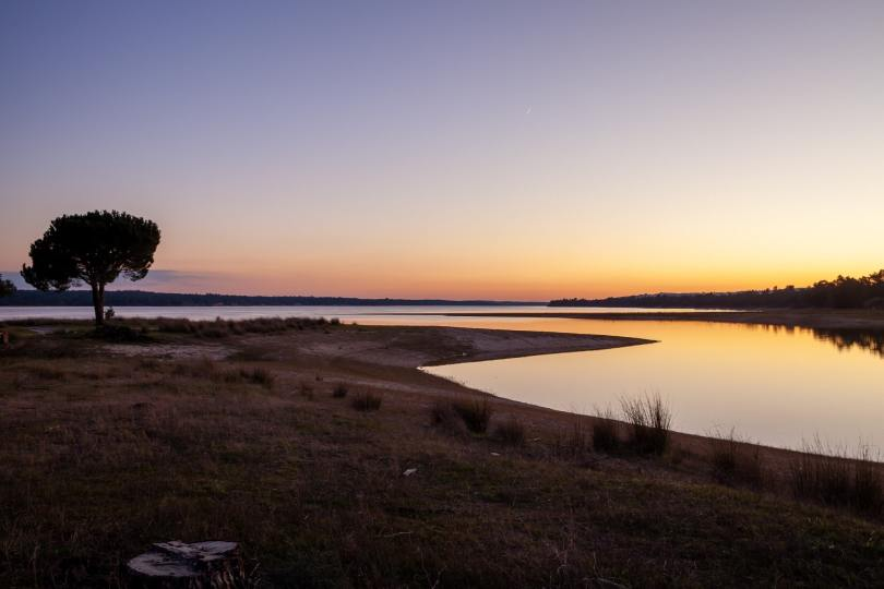 Coucher de soleil - Lac de Montargil - Alentejo - Portugal