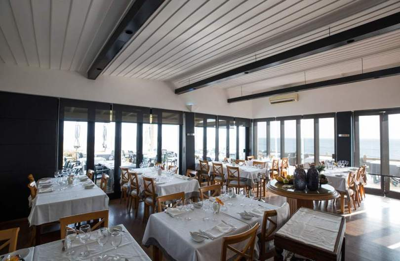Salle principale restaurant Montemar de Guincho - Cascais - Portugal