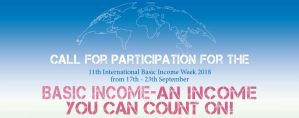11e Week van het Basisinkomen 17-23 september 2018 @ hele wereld