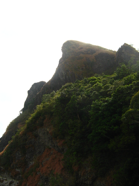 View of the peak
