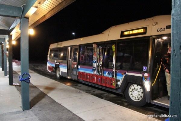 Free shuttle between Snowmass & Aspen