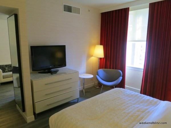 Bedroom of Superior Suite