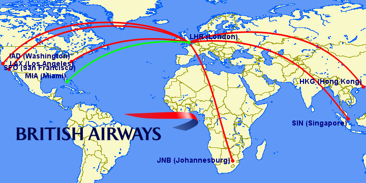 Airbus A Current Routes And Operators Weekend Blitz - Us airways direct flights map