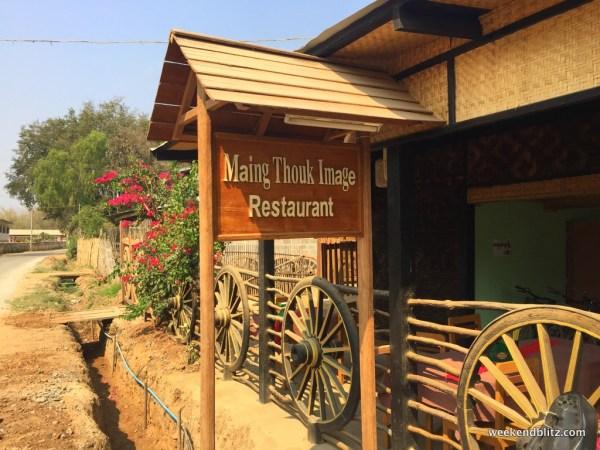 Street-side restaurant