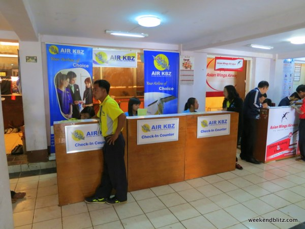 Air KBZ Check In Counters