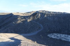 Rim trail by little crater