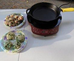 Set up induction stove