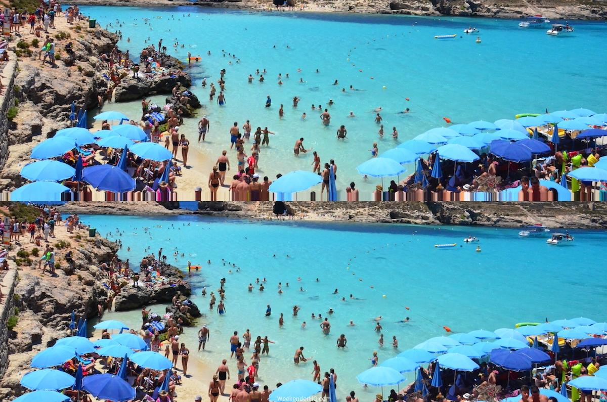 Malta Comino Island