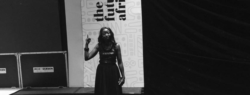 Lola Ekugo at the future awards