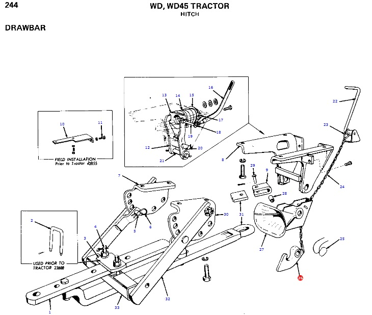 Allis Chalmers B Parts Diagram. Wiring. Wiring Diagram Images