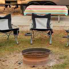 Outdoor Folding Chair With Side Table Camp Best Camping For A Heavy Person 5 Duty Options Rv Blog