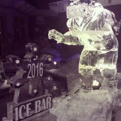 Ice Bar Carvings