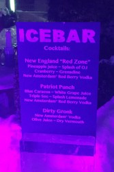 Ice Bar Cocktails