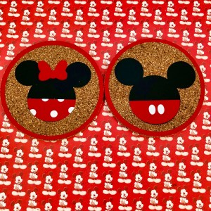 DIY Disney coasters