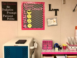 DIY decorating classroom on a budget.