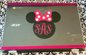 DIY Disney Monogram