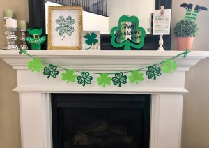 DIY St. Patrick's Day decor for cheap