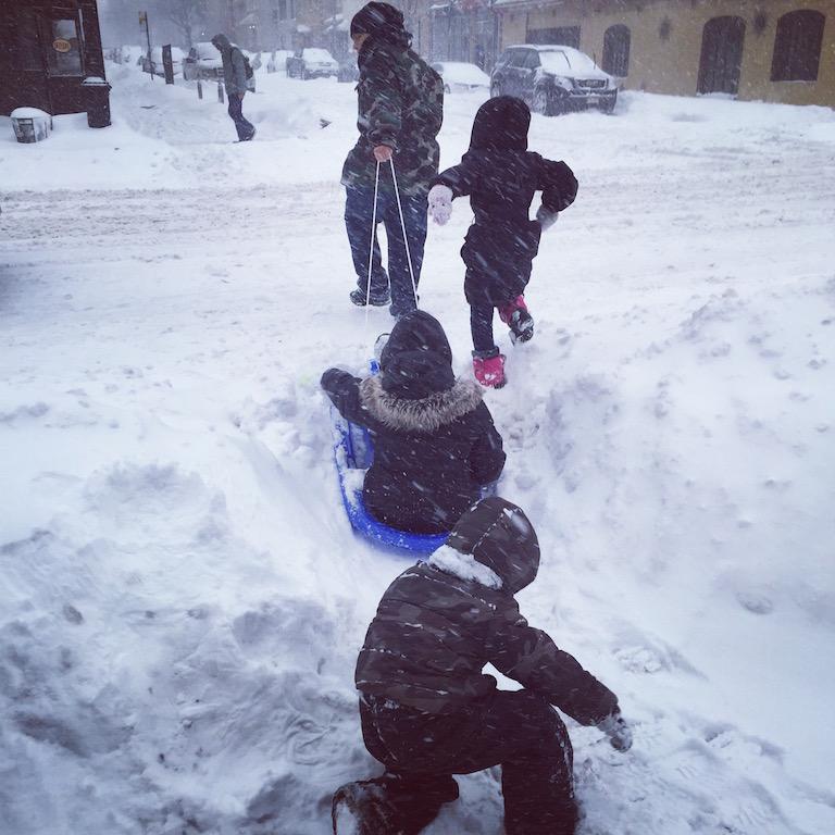 Winter Storm Jonas New York
