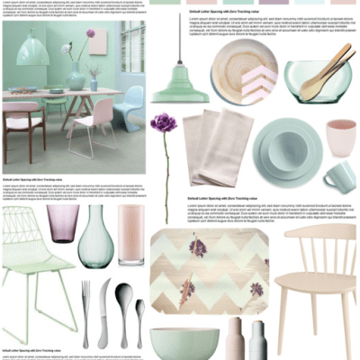 Soft Palette Dining