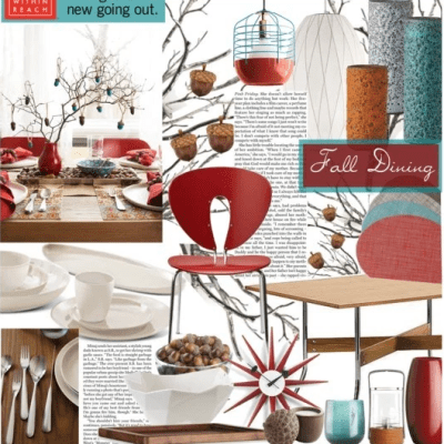 Fall Dining With Design Within Reach