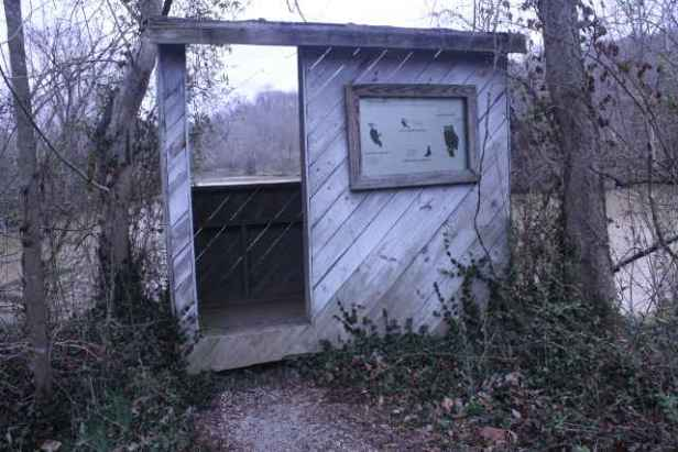 picture of birdwatching shelters