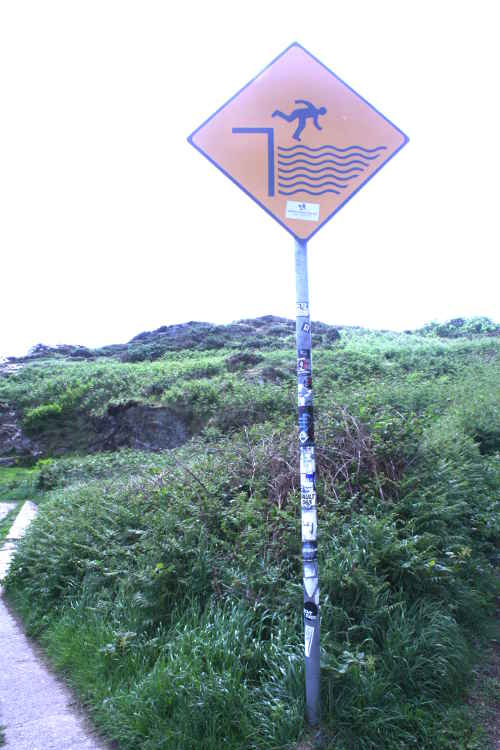 picture of warning sign