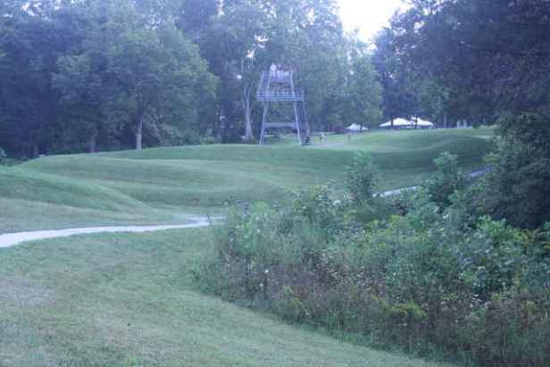 picture of serpent mound