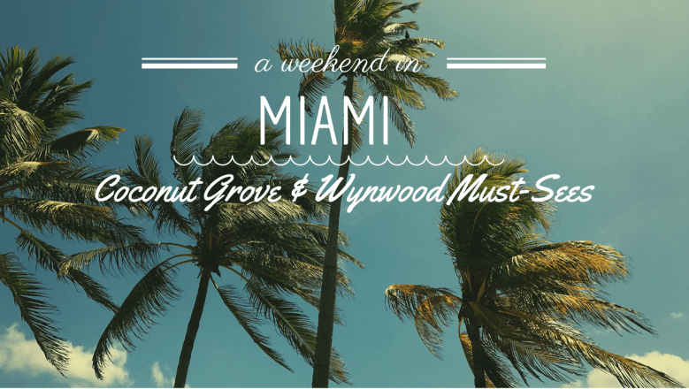 eat and drink in Miami