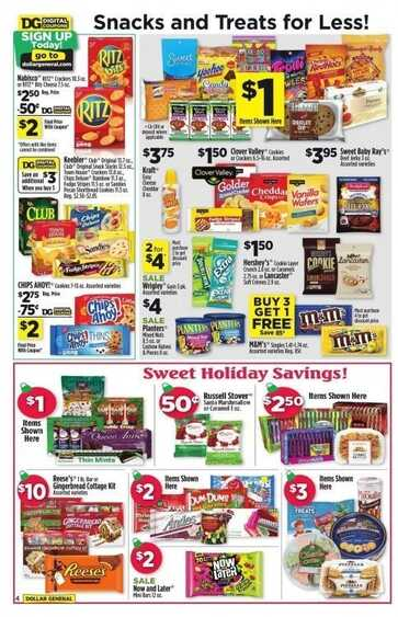 Dollar General Ads Week