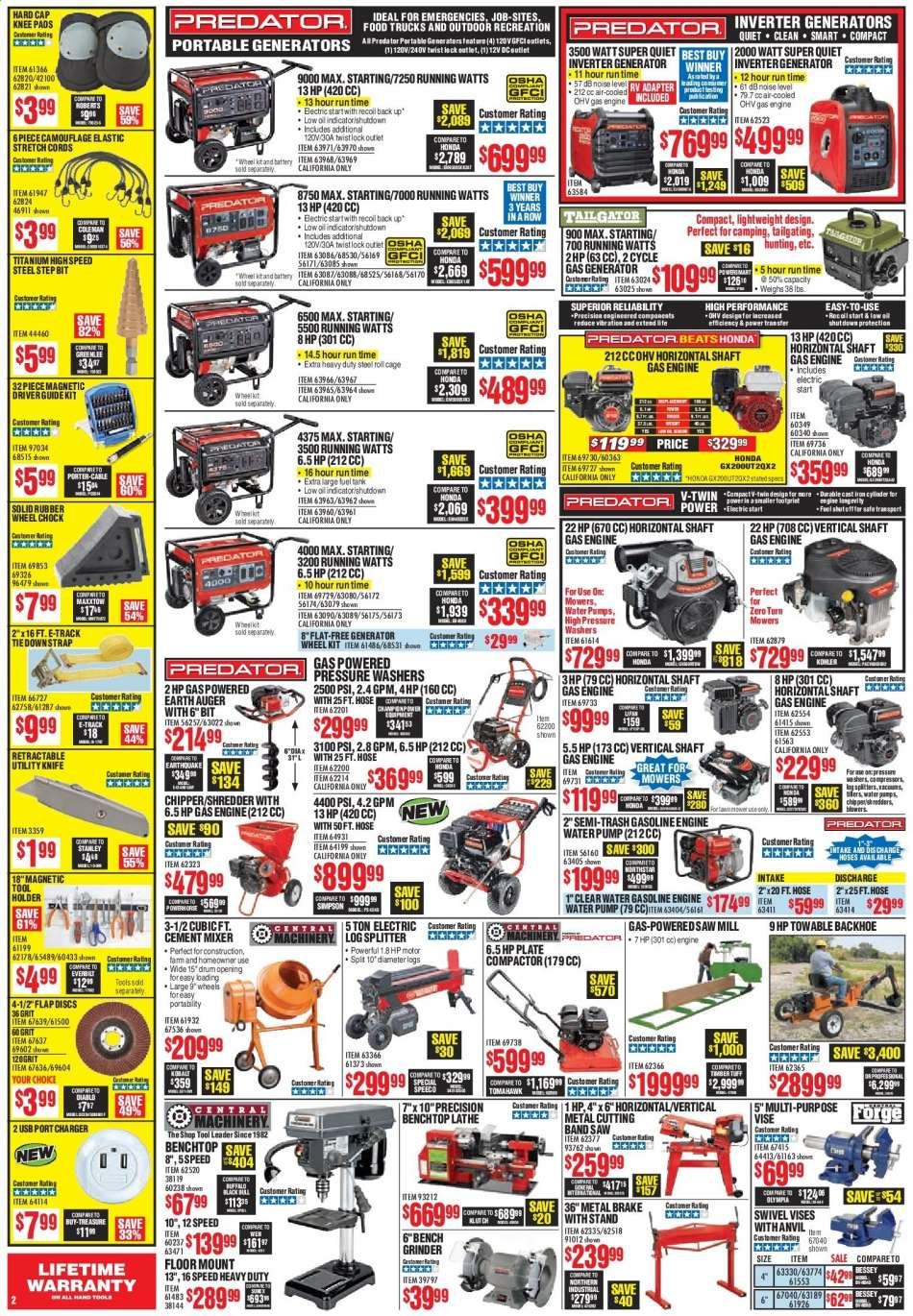 Harbor Freight Lathe Coupon 2019
