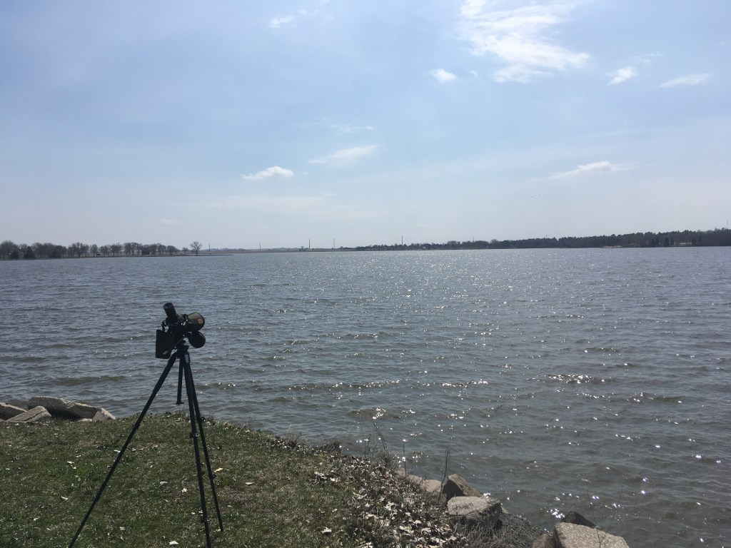 Pawnee Lake was another great place to set up the scope and have a look around