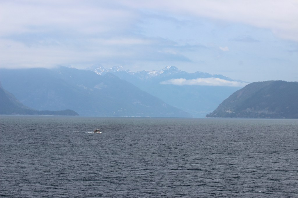More northward ferry views