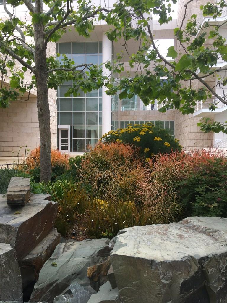 More Getty garden