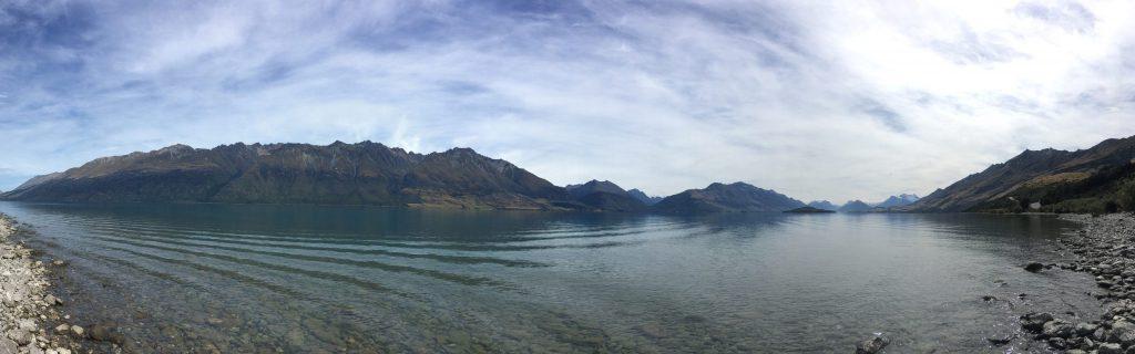 More views of the northwest end of Lake Wakatipu