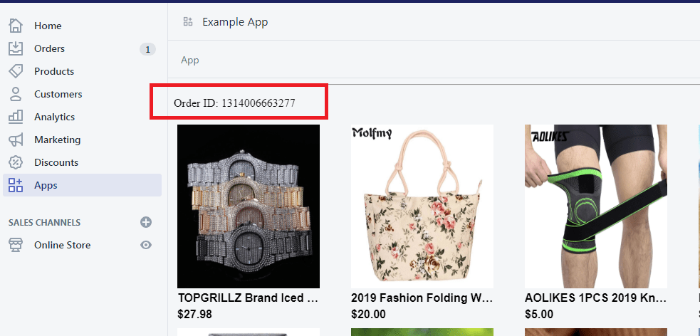 How To Use Shopify Order API with Examples (ver  2019-07)