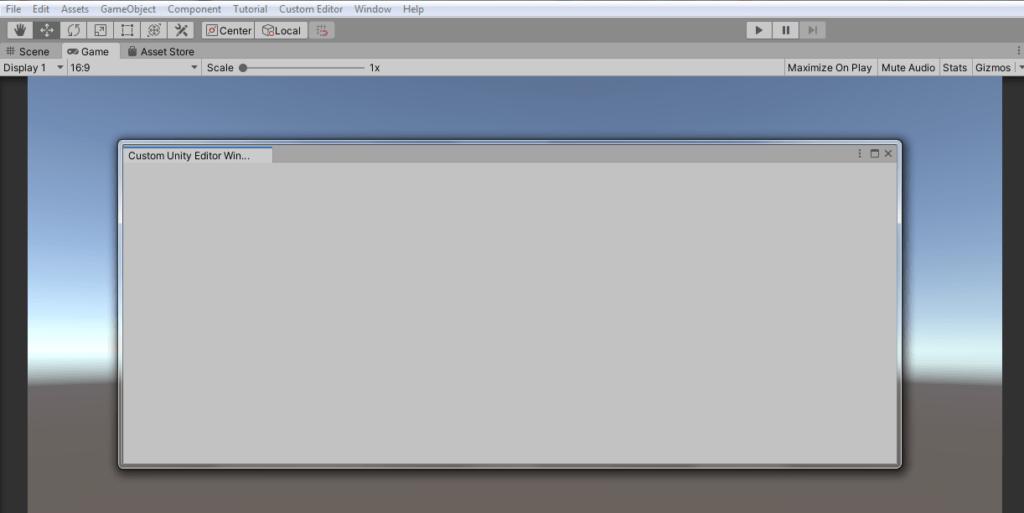Unity Tutorials: How To Create Custom Editor Window - WeeklyHow