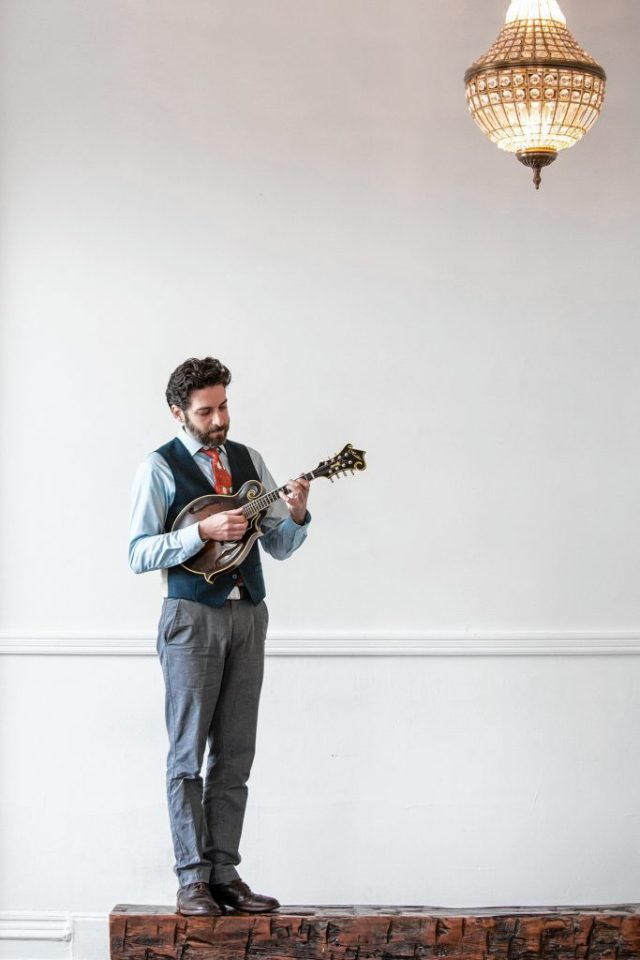 Andrew Collins will be one of the featured performers at Concord Community Music School's annual March Mandolin Festival this weekend. Courtesy of Concord Community Music School