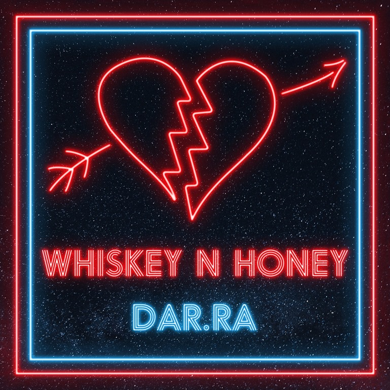 Making a world dominating push towards a new EDM style combined with rock genres, 'Dar.Ra' reveals his epic E.P 'Whiskey n Honey'