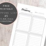 Shopping List Planner