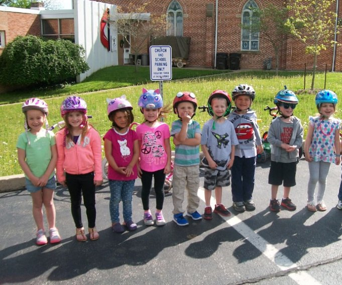 This is the preschool's eighth year hosting this event and over the years students have raised more than $12,500 for the children and families of St. Jude Children's Research Hospital.