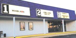 Garrettsville Cinema as seen from Garfield Plaza
