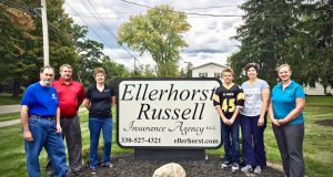 Ellerhorst-Russell Insurance recently made a sizable donation to NGCC
