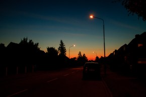 A fabolous morning sky.