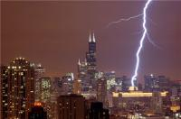 Lightning Over Chicago