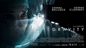 """Gravity"" with Sandra Bullock and George Clooney (briefly)."