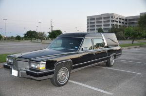 1991 Cadillac hearse